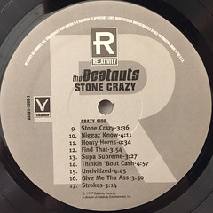 THE BEATNUTS:STONE CRAZY(LABEL SIDE-B)
