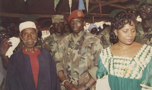 Image result for rise and fall of Yahya Jammeh in photos
