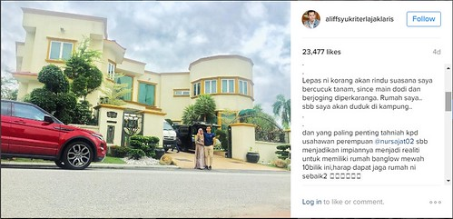 Instagram Dato Alif