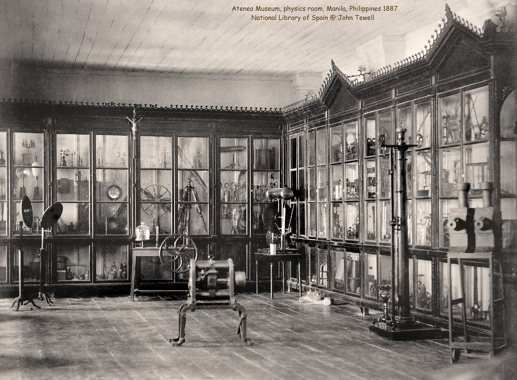Ateneo De Manila Museum Physics Room Philippines 1887