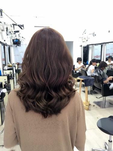 Bộ sưu tập kiểu tóc uốn nhuộm rất đẹp tại Salon Bắc Trần Tiến