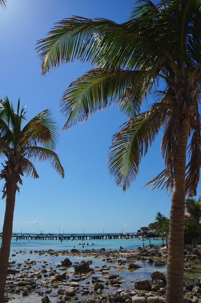 Au bout de la Playa Norte