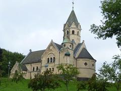 Start an der Kirche in Mirbach