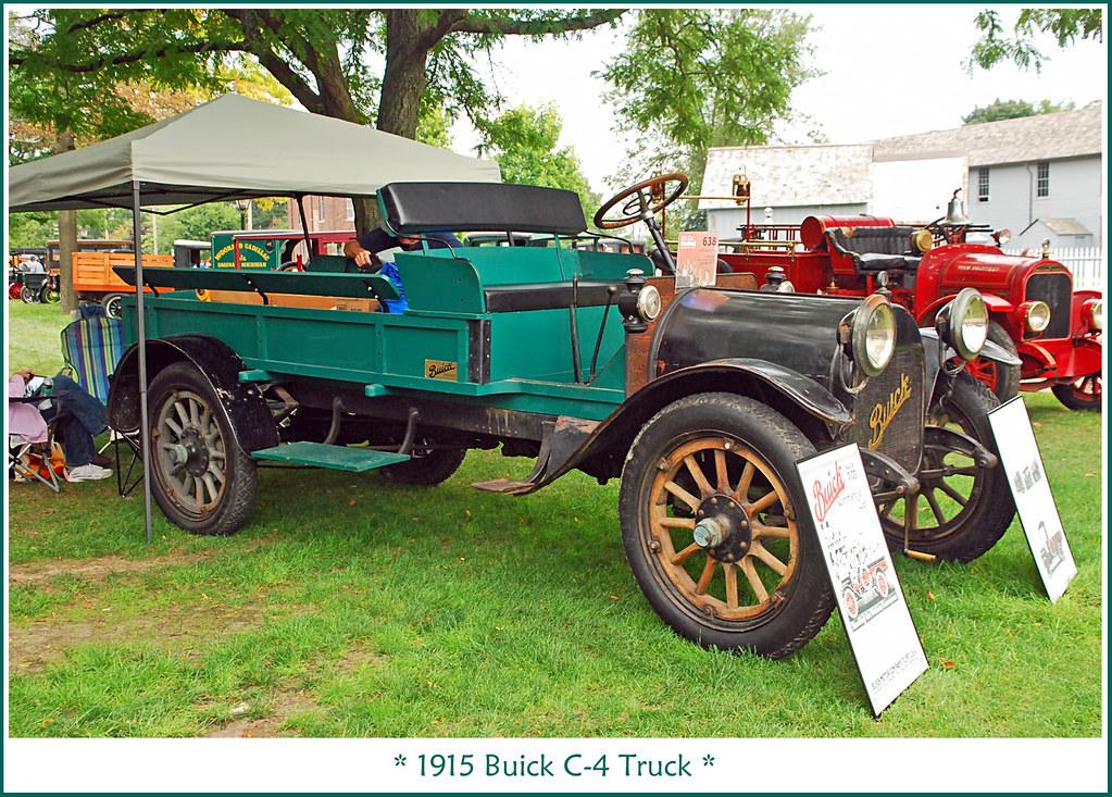 1915 Buick C-4 Truck | The September 7, 2013 Old Car Festiva… | Flickr