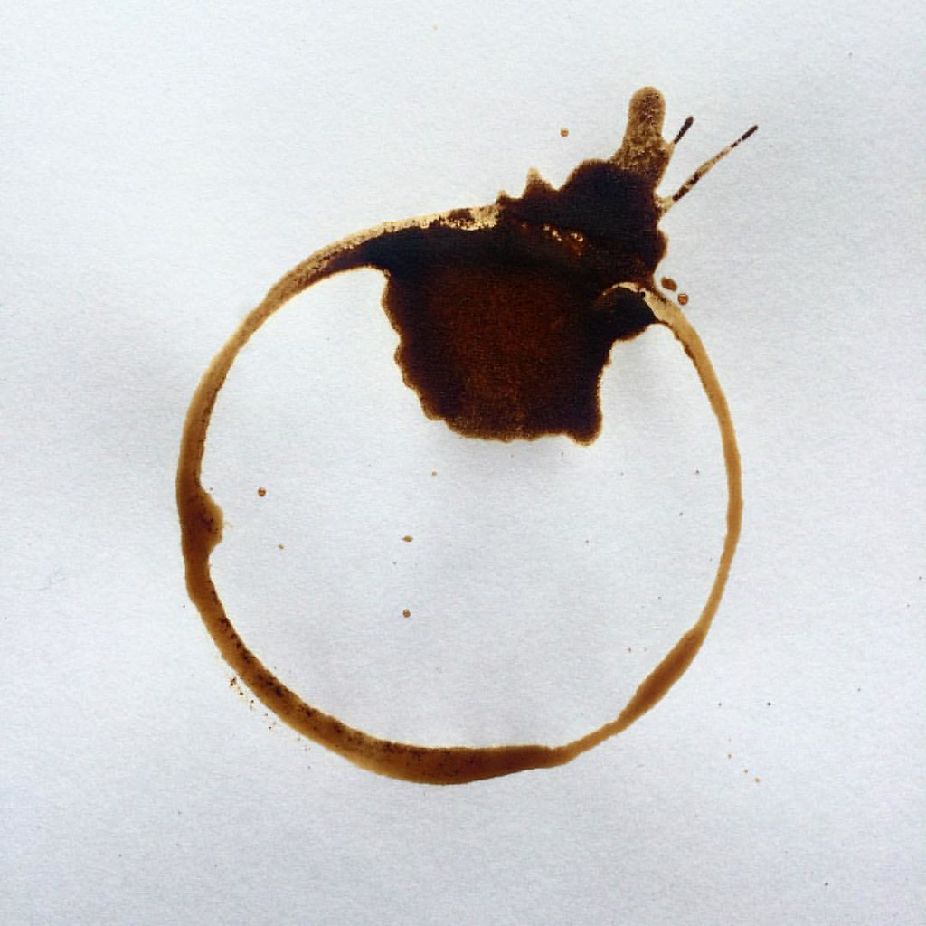 Order emerges from chaos in the universe, nature, and daily life #coffeeart