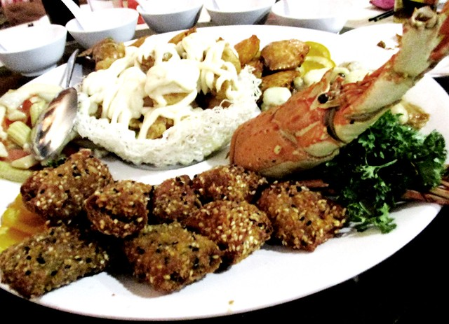 Kho Peng & Hilda wedding banquet dish 1