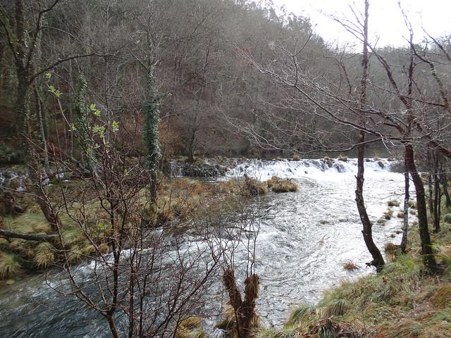 Río Sor PR-G 204 Ruta Ribeira do Bispo - Miradoiro de Augas Caídas