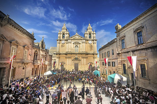 Malta celebra el festival medieval de Mdina