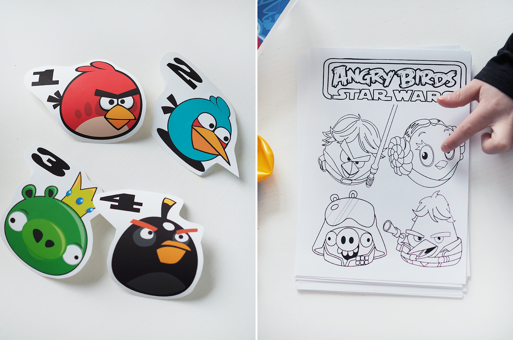 angry birds synttärit 5
