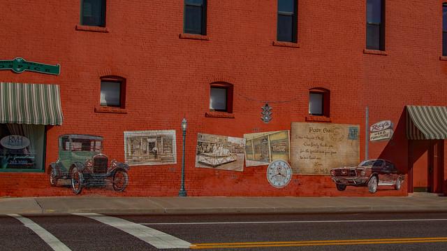 RT 66 Mural