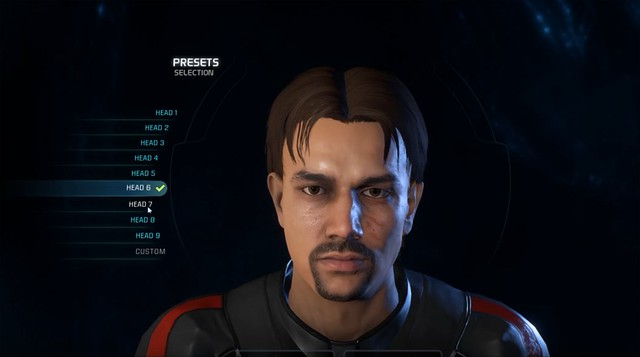 Mass Effect Andromeda - Male Head 6