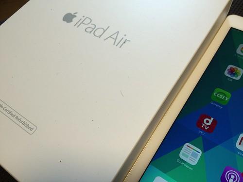 iPad air2到着
