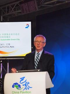 WRI主席兼執行長史提爾。攝影:賴慧玲。