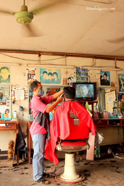 Local Barber Shop Vientiane Laos