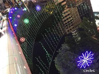 CIRCLEG 香港 尖沙咀 2016聖誕 TSIMSHATSUI 燈飾 遊記 聖誕 2016  (5)
