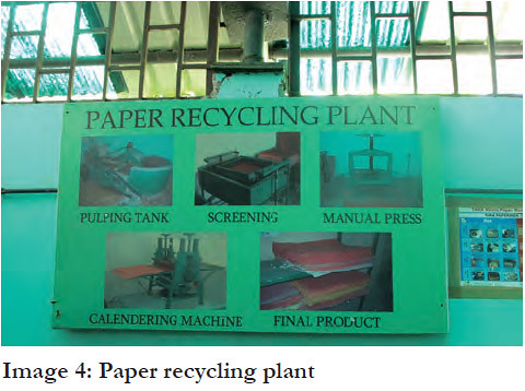 Recyling plant