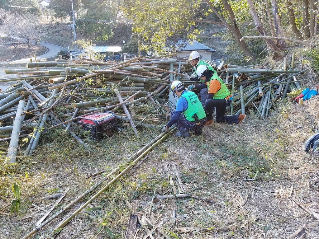 南相馬市小高区で災害ボランティア(援人 2017年 0202便)