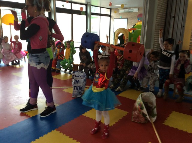 Carnaval in de kleuterblok.
