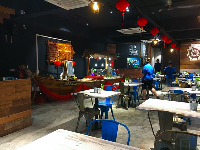 Bubu Grill Seafood Kepong Restaurant Layout
