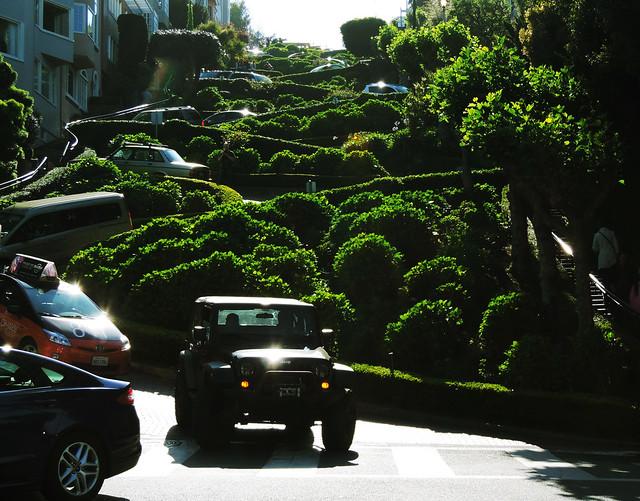 Lombard Street, San Francisco, CA, USA