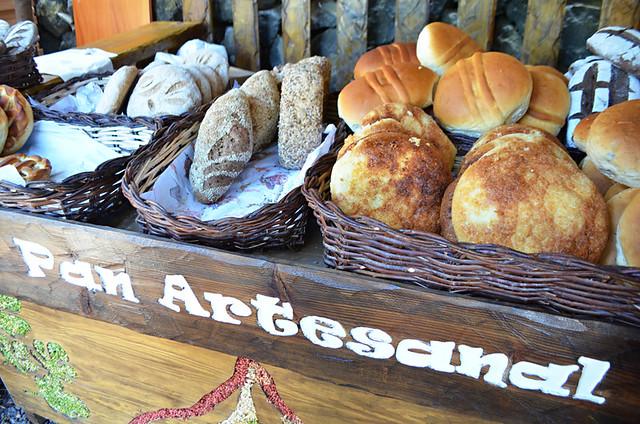 Buying local bread, Tenerife