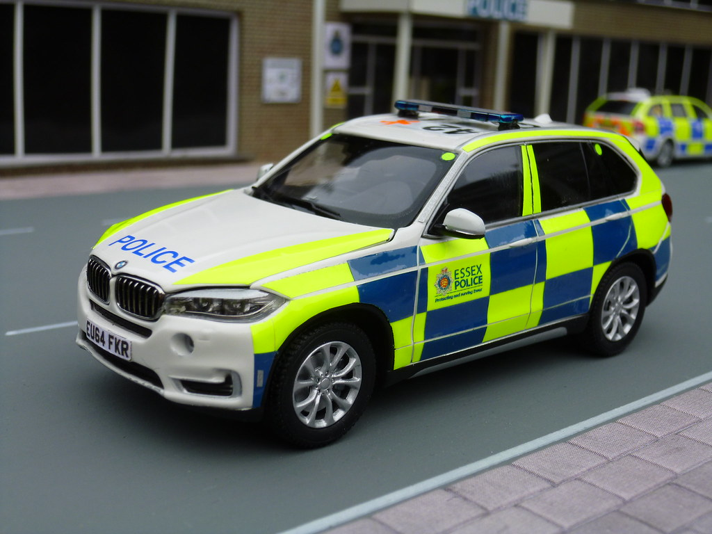 Diecast Model Cars >> 1/43 Code 3 BMW X5 Essex Police ARV Model | Photographed is … | Flickr