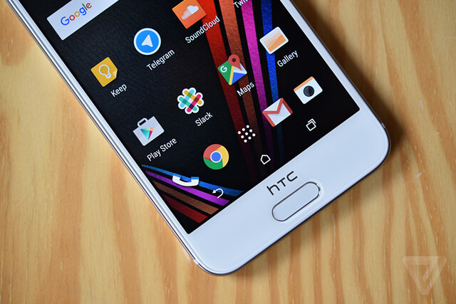 HTC One A9 thiết kế nút home cảm ứng vân tay