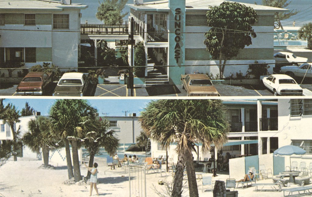 Suncoast Motel & Apts. - Treause Island, Florida