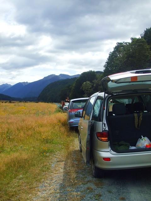 New Zealand 紐西蘭南島…………….我們的車隊