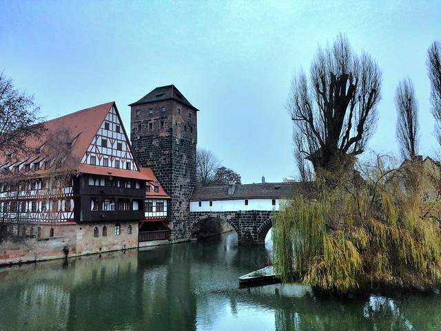 Puente del verdugo de Núremberg (Baviera, Alemania)