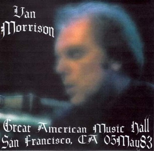 VAN MORRISON – 1983-05-05 early show (front)