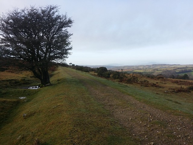 The old Princetown railway