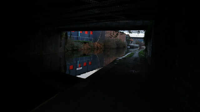 Dark reflections in sheffield