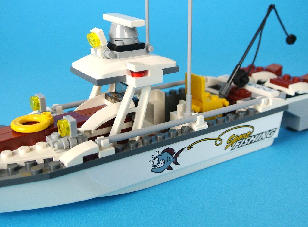 Review 60147 Fishing Boat Brickset Lego Set Guide And