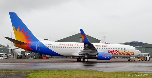 G-JZHU : Boeing 737-800 : Jet2 Holidays.