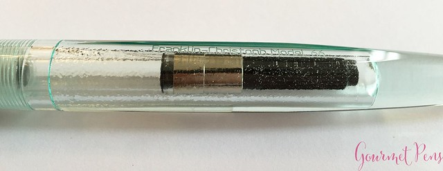 Review Franklin-Christoph Model 66 Antique Glass Fountain Pen @1901FC 13
