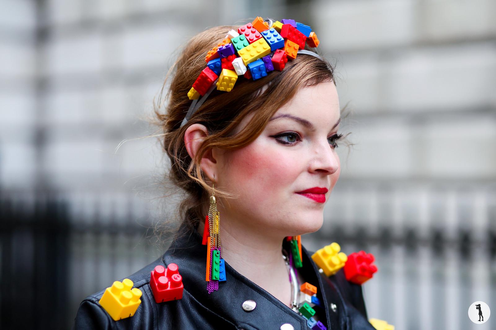 Anne-Sophie Cochevelou - London Fashion Week FW14-15 (2)