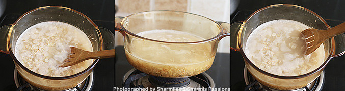 How to make Oatmeal Breakfast Recipe - Step2