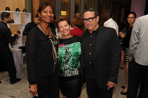 Alexandra de Lara, Janda Wetherington, & Eduard Duval Carrie at Fourth Annual Reception for the PAMM Fund for African American Art