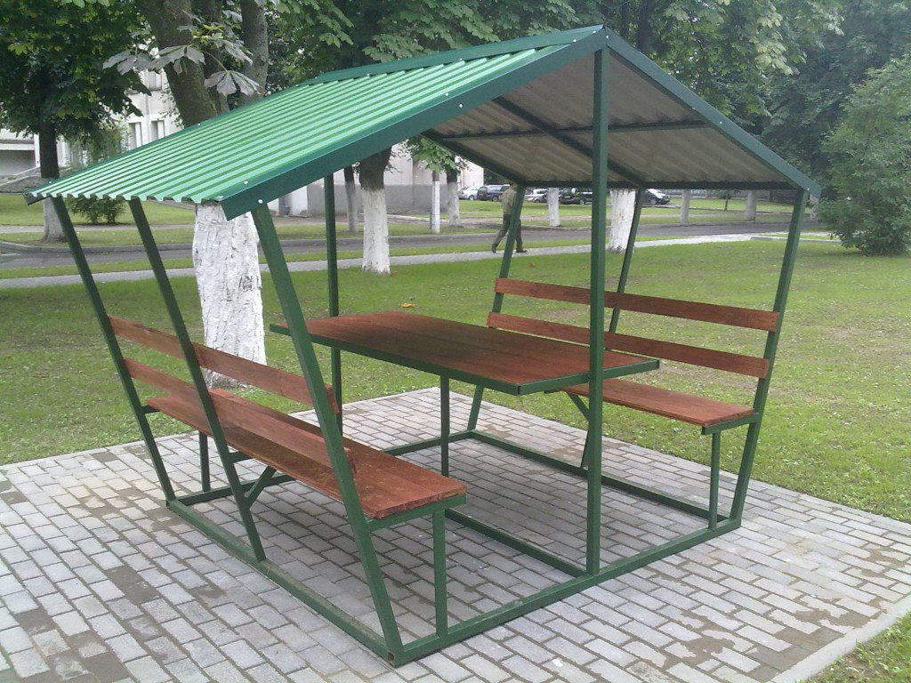 Беседки металлические в Перми
