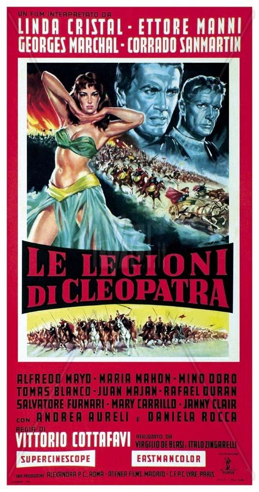 Le Legioni di Cleopatra - Poster 3