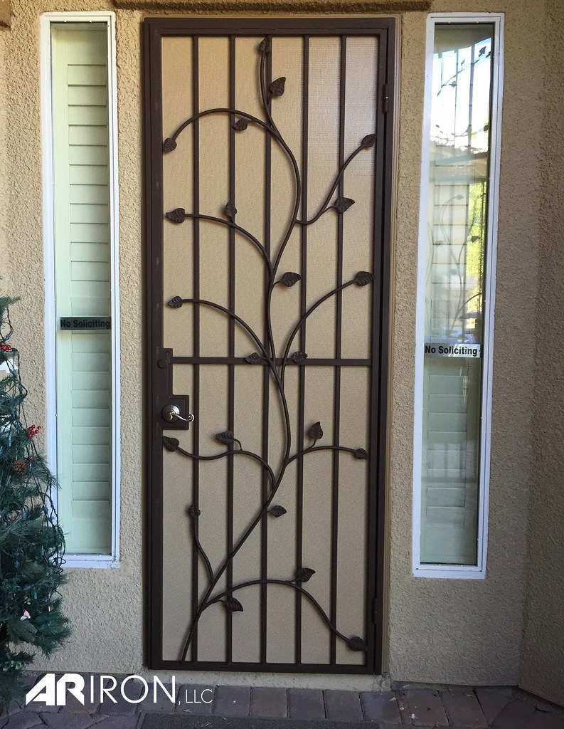 Security Screen Door Ar Iron Llc Flickr