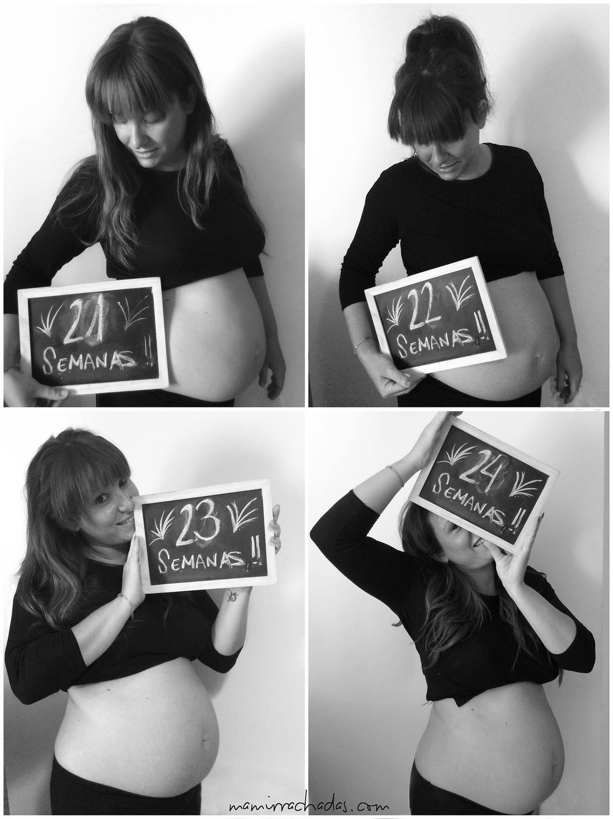 217080763 Evolución de la barriga del segundo embarazo