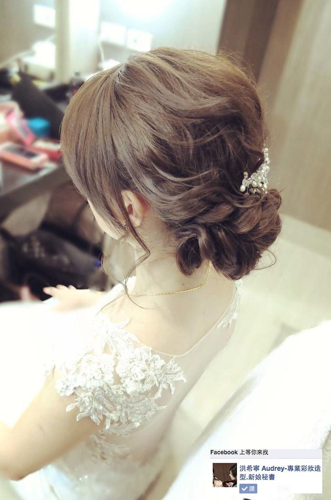 新娘造型。白紗造型。新娘皇冠。韓風新娘。韓風髮型。韓風新娘妝。新秘洪希寧 希寧 洪 Make Up