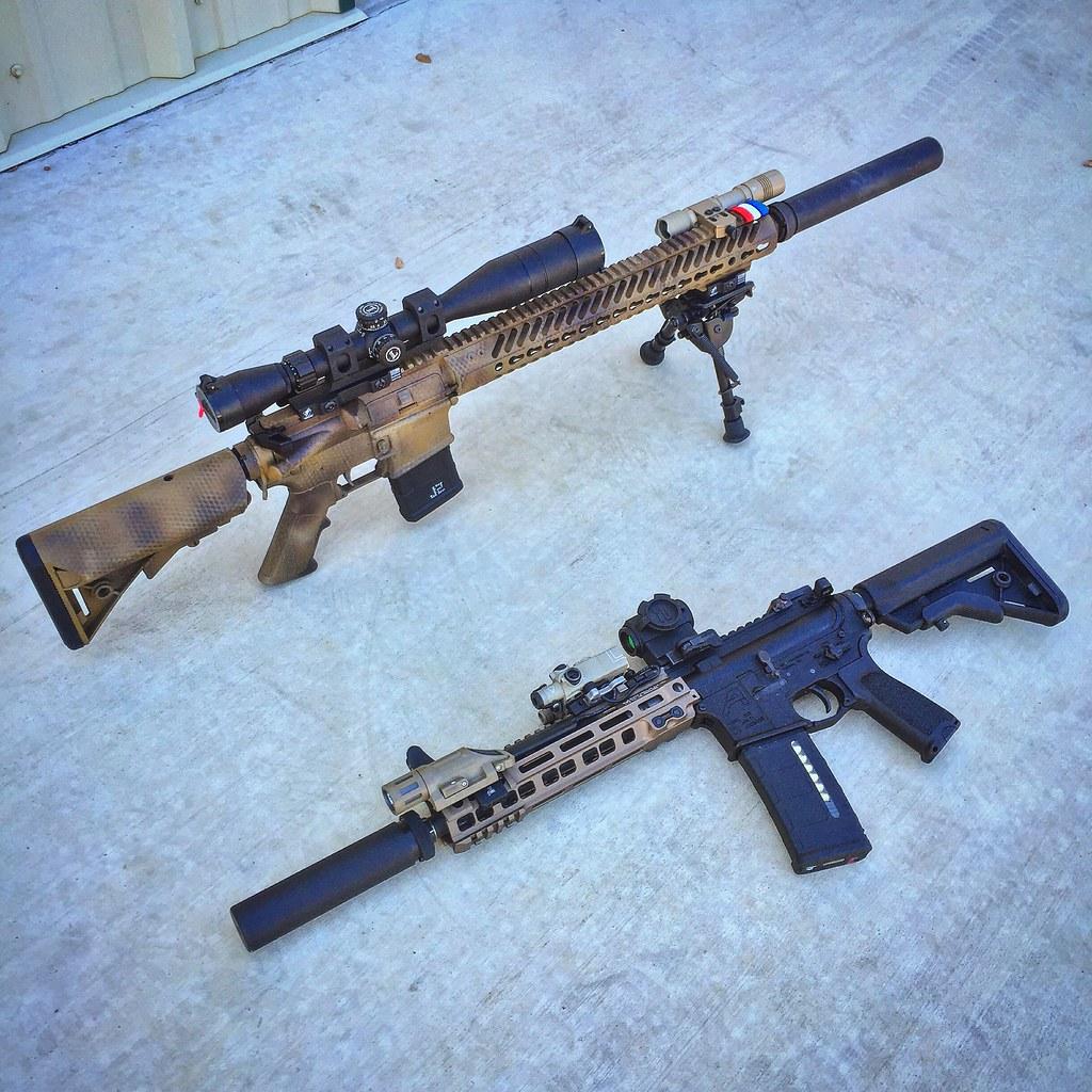 Dual Ar 15s Dual Ar15s 16 Quot Camo Specs Upper 16 Quot Dsg