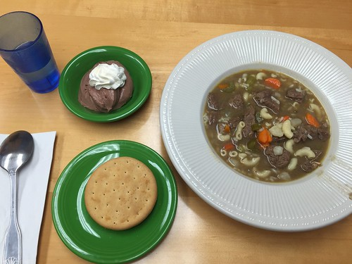 Musk Ox stew and other food