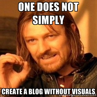 One does not simply create a blog without visuals | by mrkrndvs