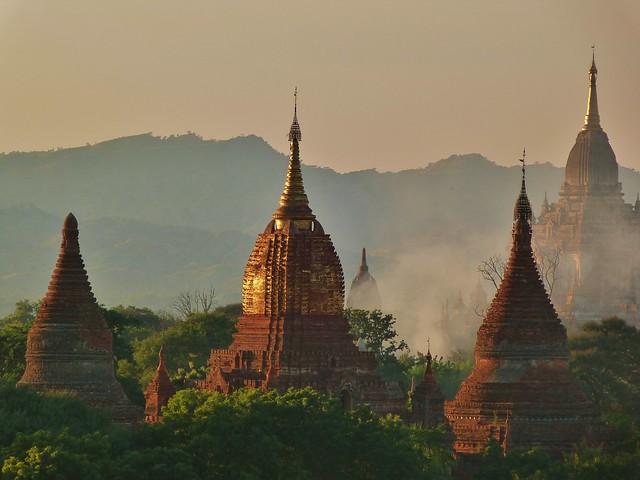 Templos de Bagan (Myanmar)