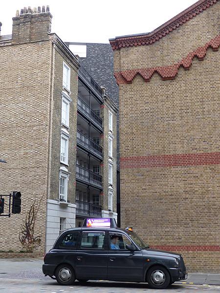 un taxi à Londres