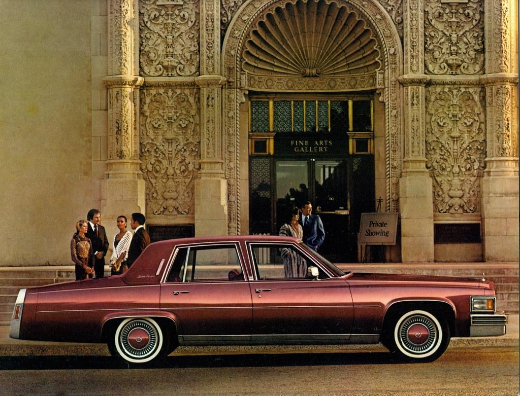 ... 1978 Cadillac Fleetwood Brougham 4 Door Sedan | By Coconv